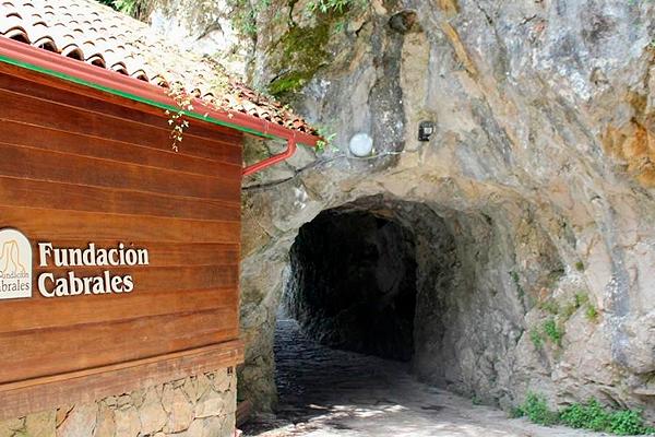 Cueva Exterior fundación Cabrales