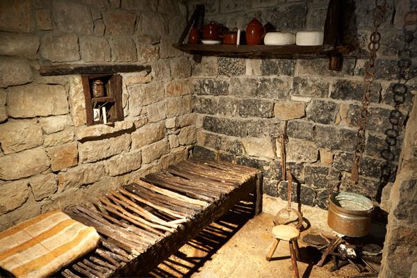 Interior Cueva Exposición