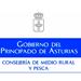 Logo consejería Medio Rural y PEsca Asturias